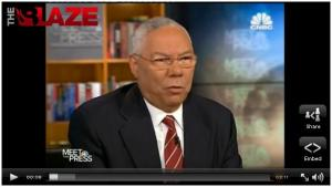 Colin Powell on Meet The Press