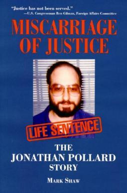 Jonathon Pollard story available from Paragon House