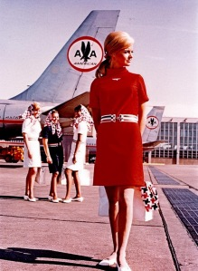 American Airlines Stewardesses of the 1960's