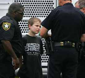 """""""The system established by the City of Meridian, Lauderdale County, and DYS to incarcerate children for school suspensions 'shocks the conscience,' resulting in the incarceration of children for alleged 'offenses' such as dress code violations, flatulence, profanity, and disrespect. By policy and practice, [the Meridian Police Department] MPD automatically arrests all students referred to MPD by the District."""""""