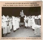 Margaret Sanger Inspiring KKK