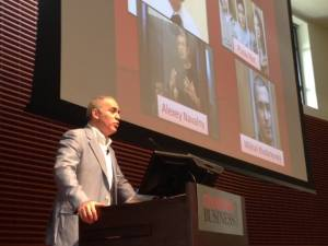Garry Kasparov speaking at Stanford University on the present and future of Russia
