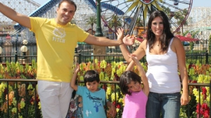 Pastor Saeed Abedini, wife Naghmeh and their children (click on image for larger size)