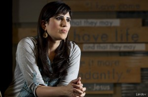 Naghmeh Abedini is devastated. Her husband won't be home for Christmas.