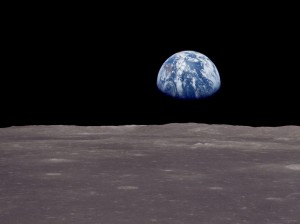 The Earth was small, light blue, and so touchingly alone, our home that must be defended  like a holy relic. The Earth was absolutely round. I believe I never knew what the word round  meant until I saw Earth from space.  - Cosmonaut Aleksei Leonov, USSR