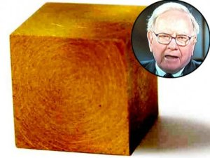"""The value of all that gold at today's prices [Feb. 2012], Buffett observes, would be about $10 trillion."""