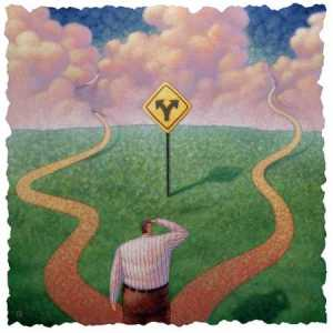 """Yogi Berra once said, """"When you come to a fork in the road, take it."""""""