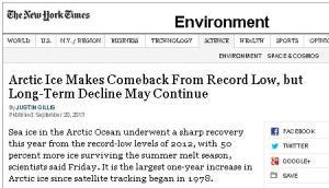 Inconvenient Headline