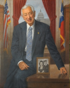"""""""Throughout his time in Congress, Chairman Hall has served this institution with style and humor. It is an honor to work with Ralph as both a colleague and a friend. Ralph has always said, 'I'd rather be respected at home than liked in Washington.' Ralph, you actually have achieved that rare combination of both."""" -- Cong. Lamar Smith"""