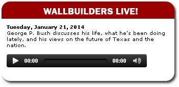 Click on image above for podcast of interview with George P. Bush