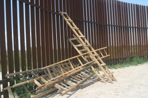 """""""You show me a 50-foot wall and I'll show you a 51-foot ladder at the border. That's the way the border works."""" - Janet Napolitano, July 2011"""
