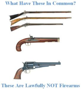 Federal and Texas Law Agree: The Above Are Not Firearms (click on image for larger view)