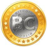 Bitcoins are software - This is merely a marketing image.