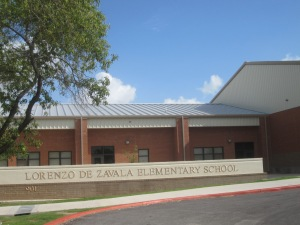 Lorenzo de Zavala's name appears on many public properties