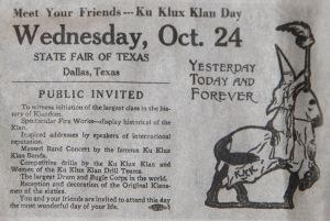 Texas State Fair Attraction 1923