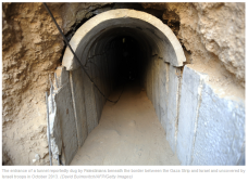 Maniacal Hamas has expended over 800,000 tons of concrete to construct tunnels