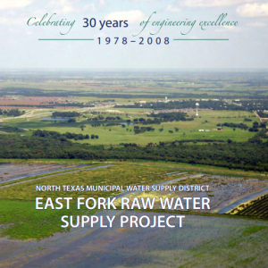 east fork raw water project