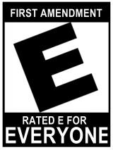 first amendment rated E