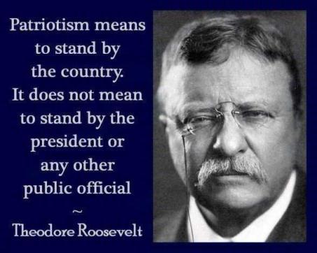 teddy roosevelt patriotism