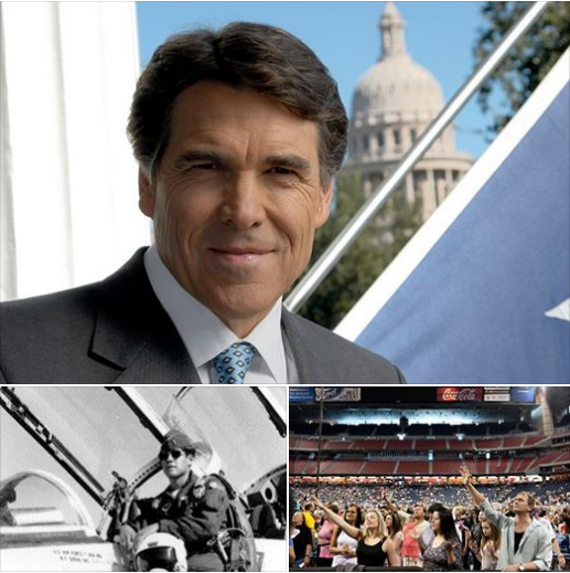 Rick Perry: Governor, USAF Veteran, Spiritual Leader at The Response, 2011