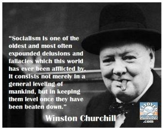 churchill on socialism