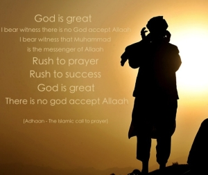 When a man recites these words three times, he is considered by Muslims to become a Muslim.