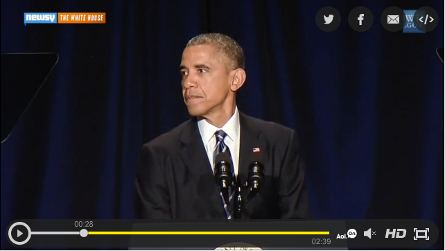 At National Prayer Breakfast Obama Equates Christianity with Muslim Terrorists