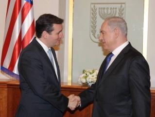 Texas' U.S. Senator supports Benjamin Netanyahu