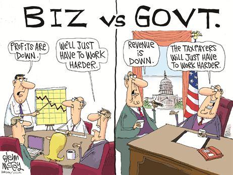 biz v govt cartoon