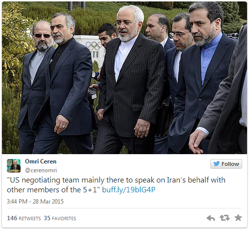 """Iranian journalist Amir Hossein Motaghi: """"The US negotiating team are mainly there to speak on Iran's behalf with other members of the 5+1 countries and convince them of a deal."""""""