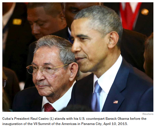 Obama has never met a despot he didn't like