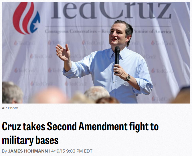 ted cruz on second amendment