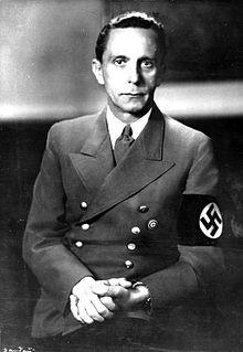 Paul Joseph Goebbels - Hitler's propaganda minister