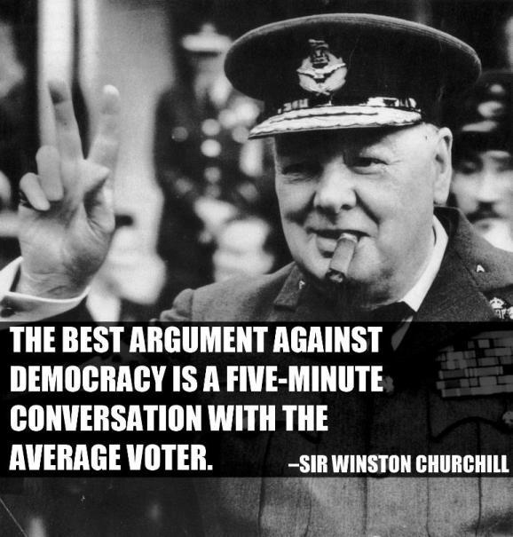 Winston Churchill - The best case against democracy