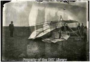 Jacob Brodbeck took to the air in powered flight 40 years before the Wright brothers set off for Kitty Hawk, North Carolina.