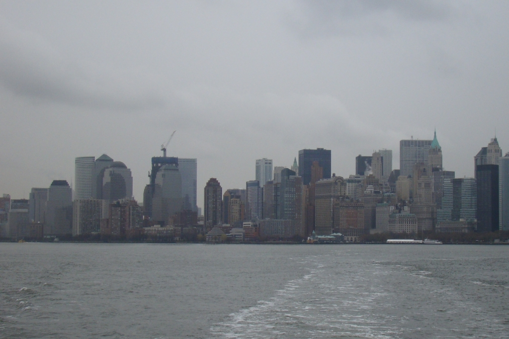 After: Manhattan skyline March 2011 - Photo credit Mary Weible
