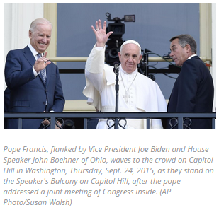 """Pope Francis Says USA Must Be """"Compassionate"""" Toward Immigrants"""