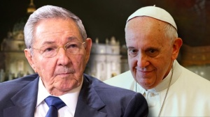 Raul Castro visited Pope Francis in Vatican City earlier this year.