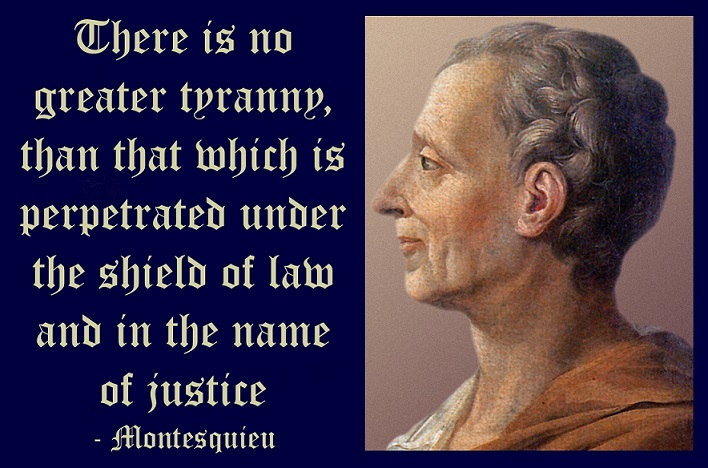 Charles-Louis de Secondat, Baron de La Brède et de Montesquieu, generally referred to as simply Montesquieu, was a French lawyer, man of letters, and political philosopher who lived during the Age of Enlightenment