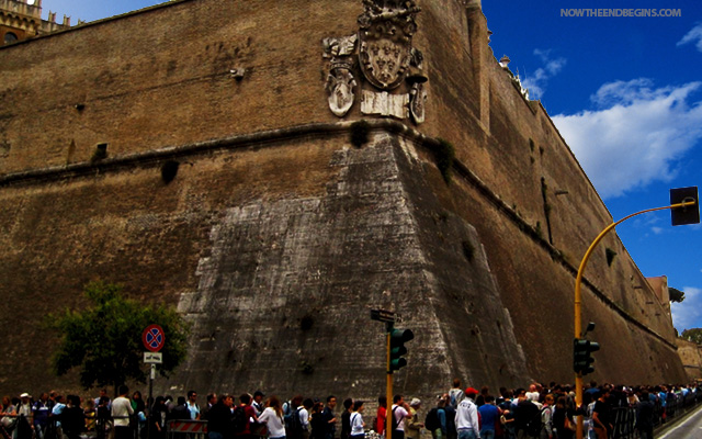 Vatican City Immigration Wall Keeps Out Illegal Aliens