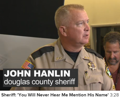 The Sheriff Refuses to Name the Killer to deprive him of notoriety