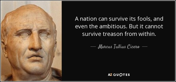 Marcus Tullius Cicero - Roman statesman, lawyer, scholar, and writer who vainly tried to uphold republican principles in the final civil wars that destroyed the Roman Republic.