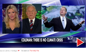 Weather Channel co-founder John Coleman says there is no climate crisis