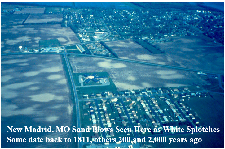 Source: Missouri S&T: Seismic Hazards in the Midwest
