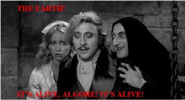 IT'S ALIVE ALGORE
