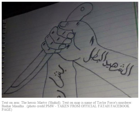 fatah celebrates murder of taylor force
