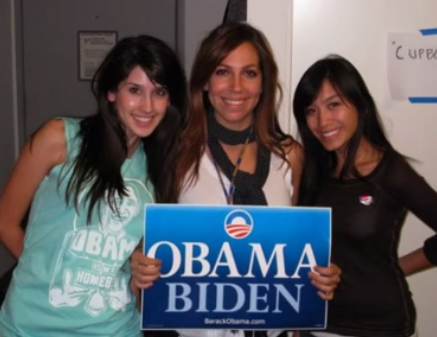 carey wedler with two other Obama Girls