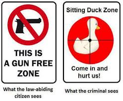 gun free zone invitation to criminals