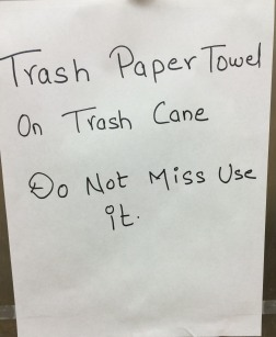 Paper Towel Advisory.JPG