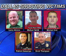 dallas policemen murdered